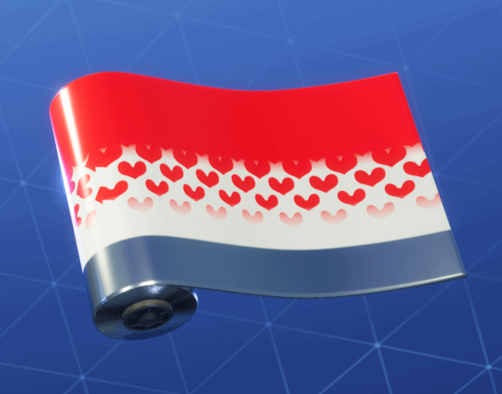 Hearts Wild Card weapon wrap Fortnite season 8