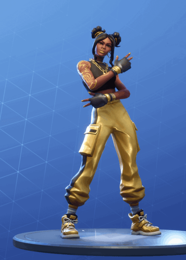 Fortnite Luxe skin stage 4 season 8 battle pass