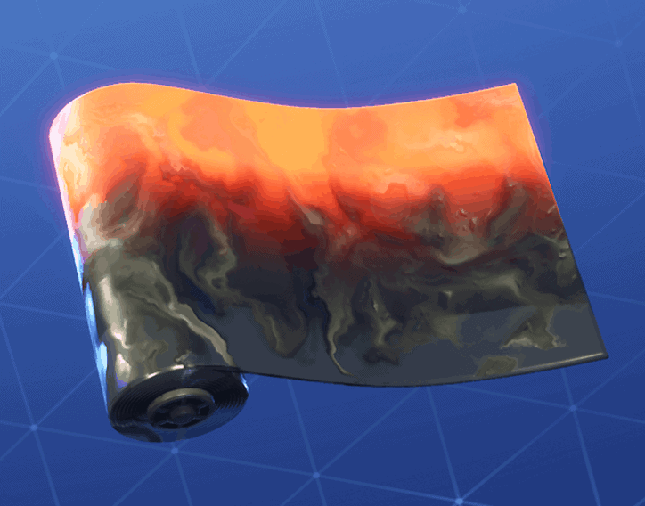 Magma wrap Fortnite season 8