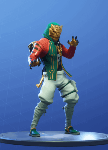 Fortnite Master Key skin masked style season 8 battle pass