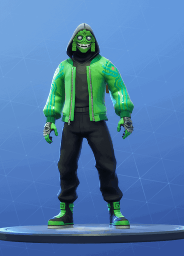 Mezmer skin Fortnite season 8