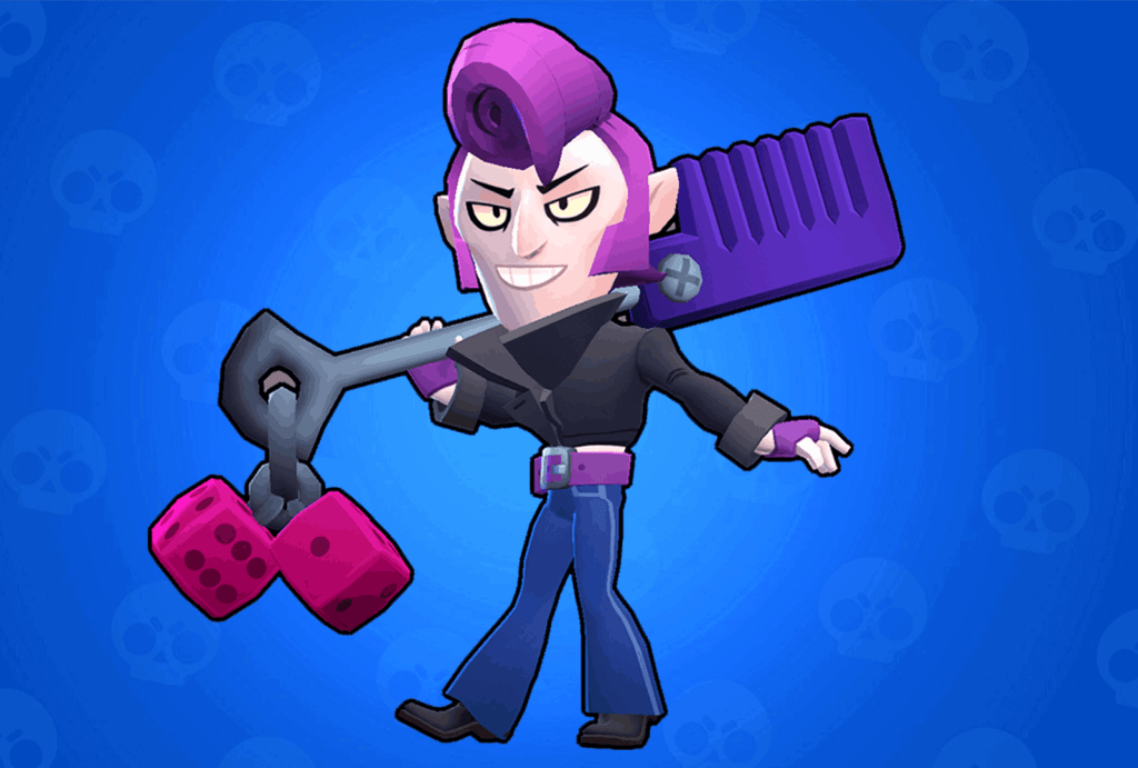Mortis Rockabilly skin Brawl Stars