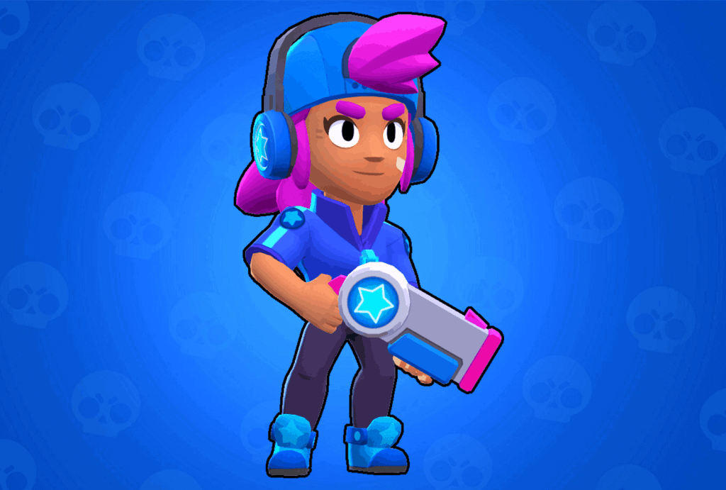 Shelly Star skin Brawl Stars