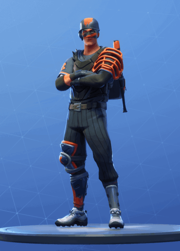 Slugger skin Fortnite season 8