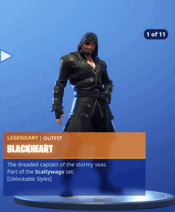 Tier 1 Blackheart skin