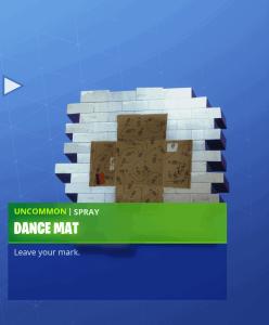 Tier 26 Dance Mat spray