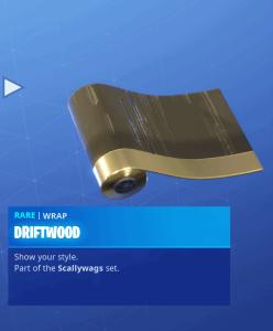 Tier 28 Driftwood wrap