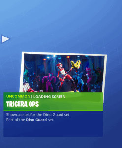 Tier 40 Tricera Ops loading screen