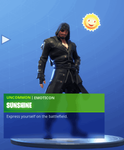 Tier 8 Sunshine emoticon