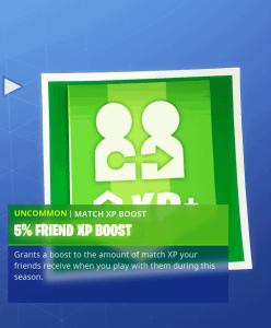 Tier 9 5% friend XP boost