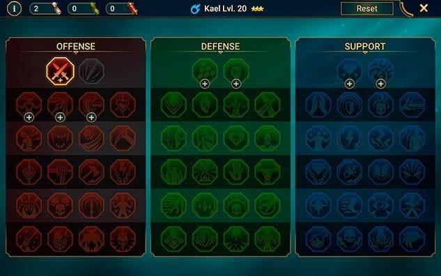 Unlock masteries RAID Shadow Legends