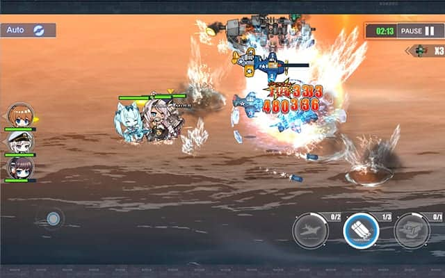 Azur Lane mobile game gameplay screenshot