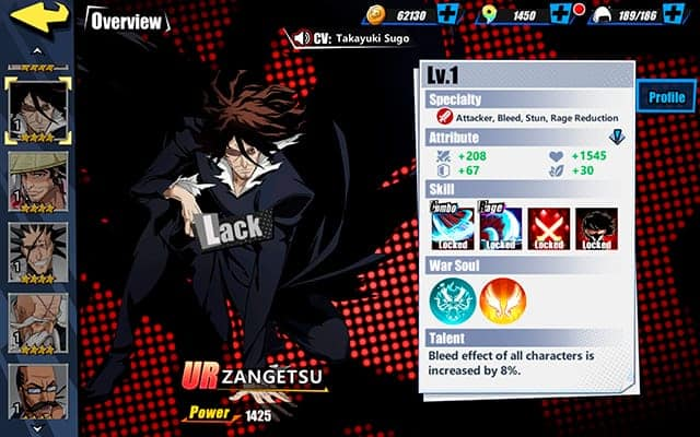 Bleach Immortal Soul Zangetsu Character