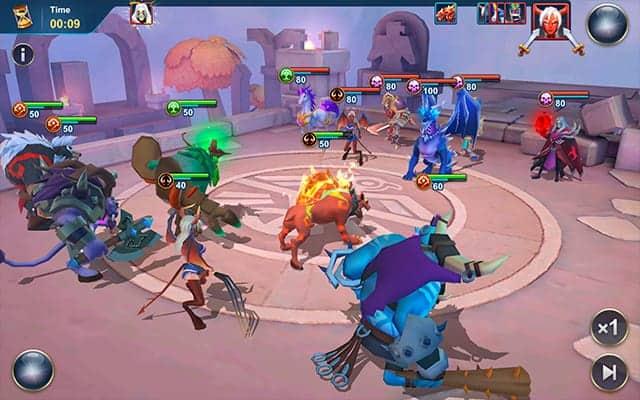 Idle War combo screenshot