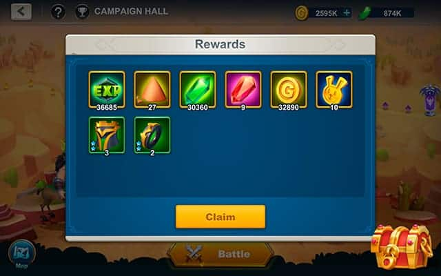 Idle War soul shard idle rewards