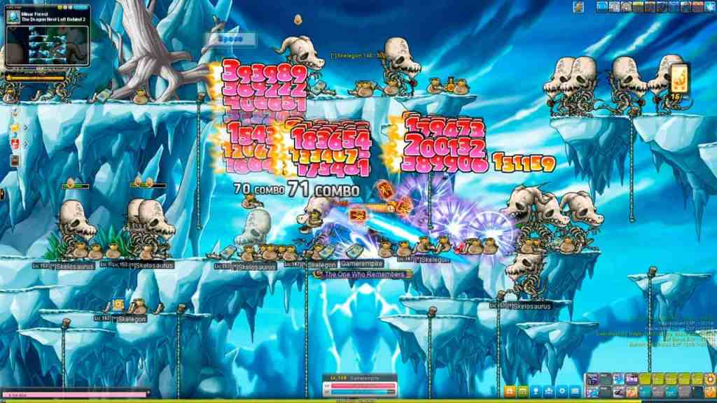Maplestory Training Guide Level 145-155 Skelosaurus and Skelegon