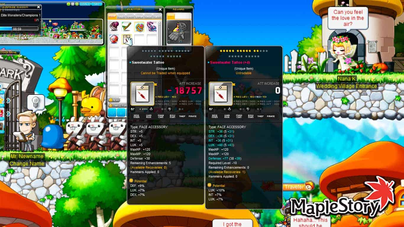 Maplestory – How To Get Potential On An Item