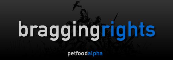 Bragging Rights- Pet Food Alpha