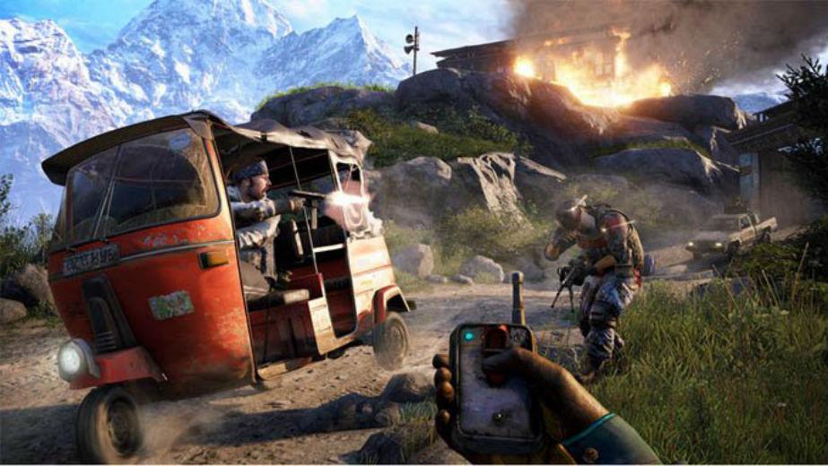 Gamescom 2014 Juega Far Cry 4 Para Ps4 Con Alguien Que No Tenga El