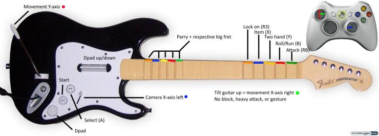 jugador-termina-dark-souls-usando-guitarra-rock-band-como-control-1