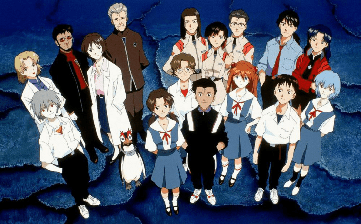 Evangelion personajes