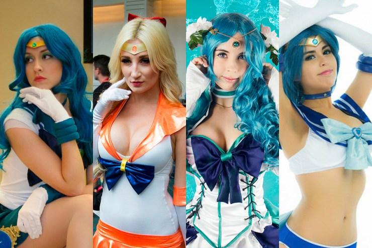 Portada Cosplays Sailorn Moon