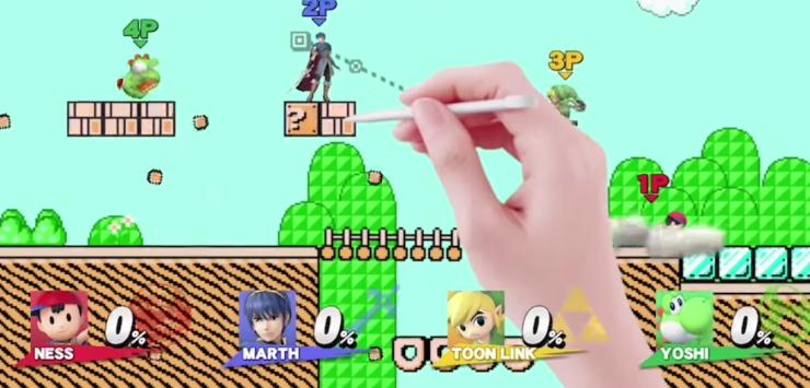 super-smash-bros-escenario-mapa-nivel-basado-super-mario-maker-wii-u-3ds-nintendo-1