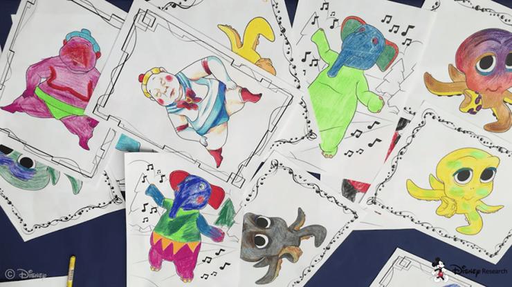 Libros para colorear en 3D? Sí, Disney lo ha hecho realidad