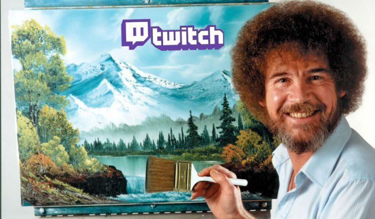 twitch-creative-nueva-rama-artistica-creativa-streaming-asocio-adobe-maraton-bob-ross-the-joy-of-painting-1
