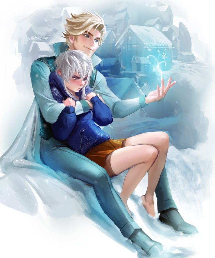 Sakimi Chan Gender Bend Jack Frost Elsa Frozen
