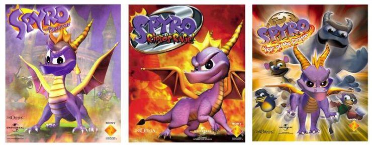 Franquicia de Spyro