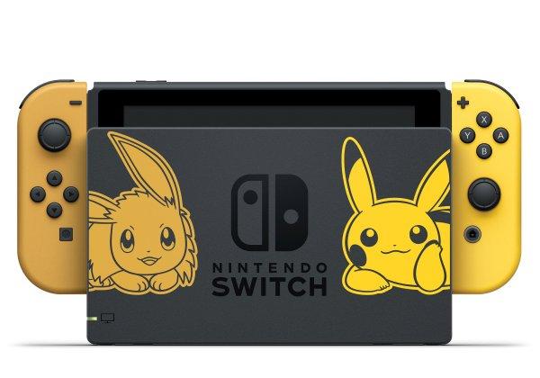 Nintendo Presenta Una Switch Especial De Pokemon Let S Go Pikachu