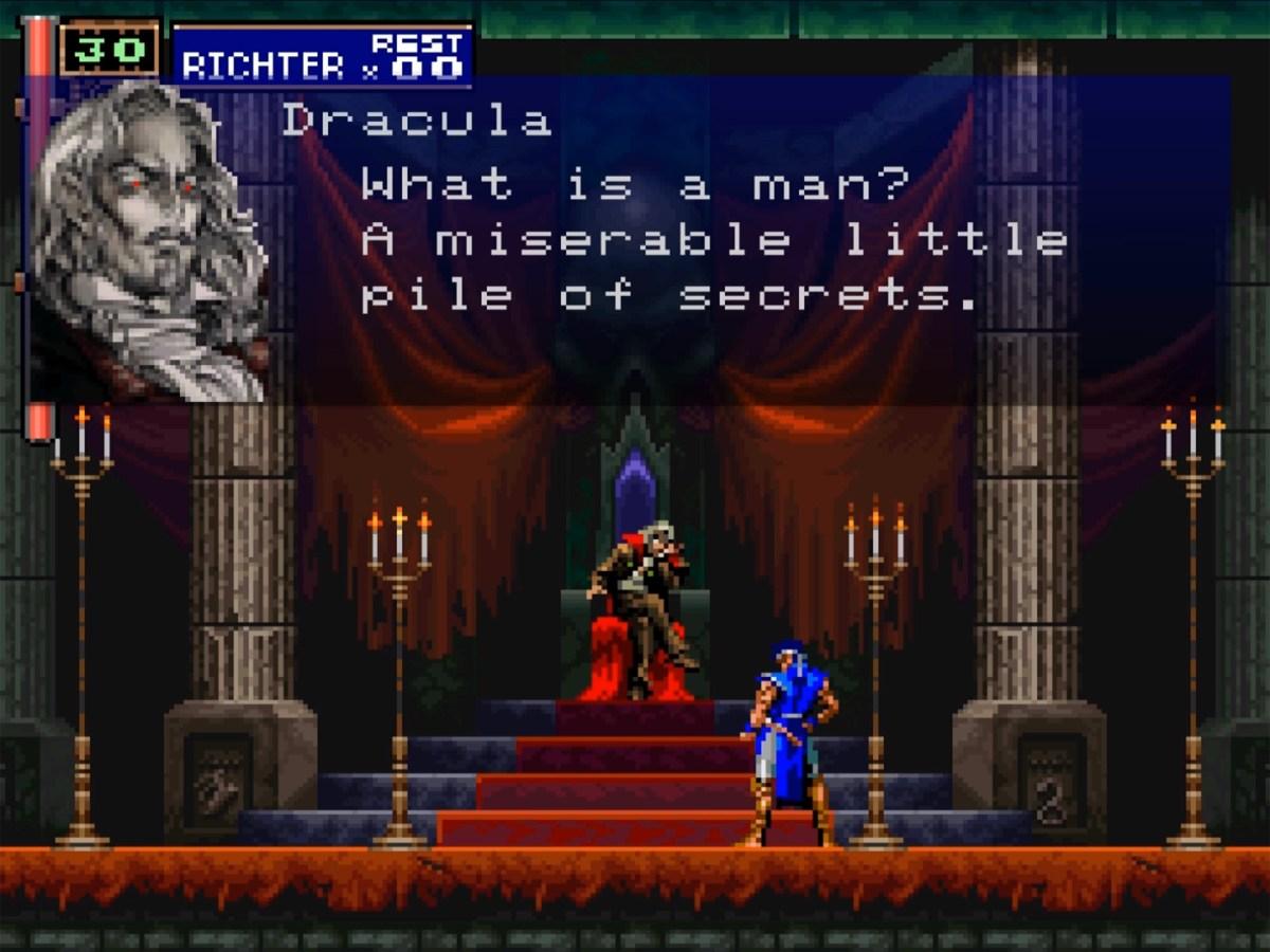 ¡Herejía! Castlevania Requiem para PS4 cambia un par de elementos clásicos