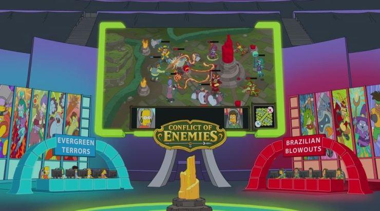 Los Simpson - League of Legends
