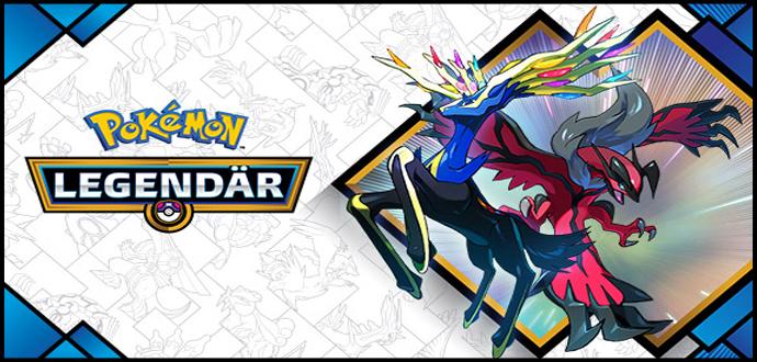 """""""Pokémon Legendär"""" – Legendäre Pokémon Yveltal und Xerneas ab sofort bei GameStop erhältlich"""