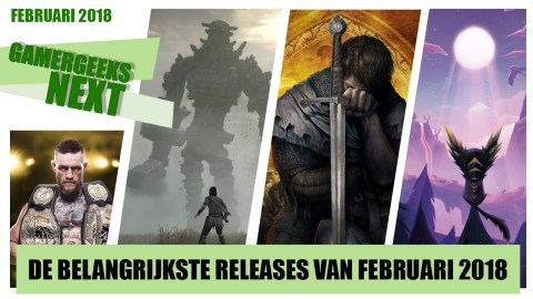 De game releases van februari 2018 – UFC 3, Shadow of the Colossus, Kingdom Come: Deliverance en meer!