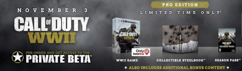 Call of Duty WW2, Call of Duty WW2 release date, Call of Duty announcment, Activision, Sledgehammer, Call of Duty WW2 trailer, Call of Duty WW2 preorder