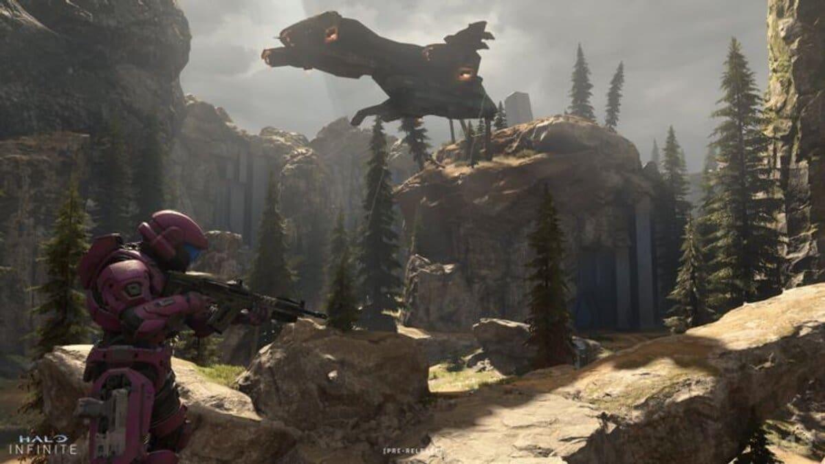 Halo Infinite Multiplayer screenshot Fragmentation