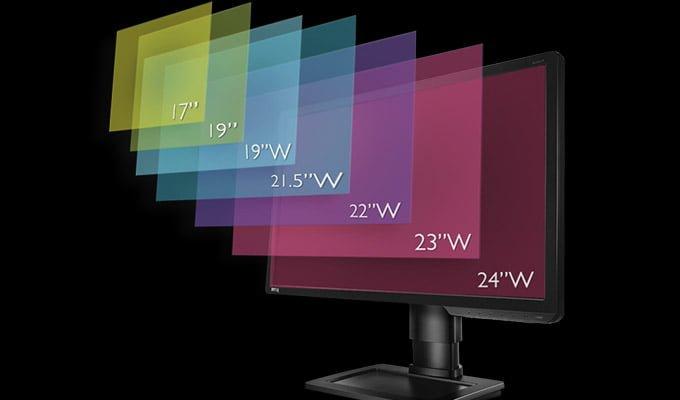 Monitor-Sizes