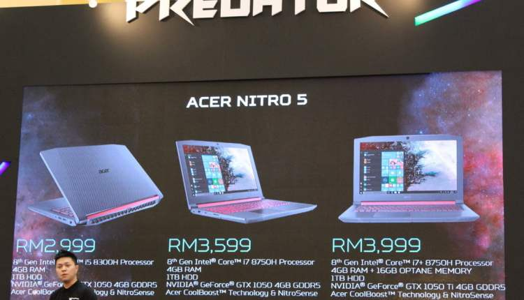 The Refreshed Acer Nitro 5 With 8th-Gen Intel Core