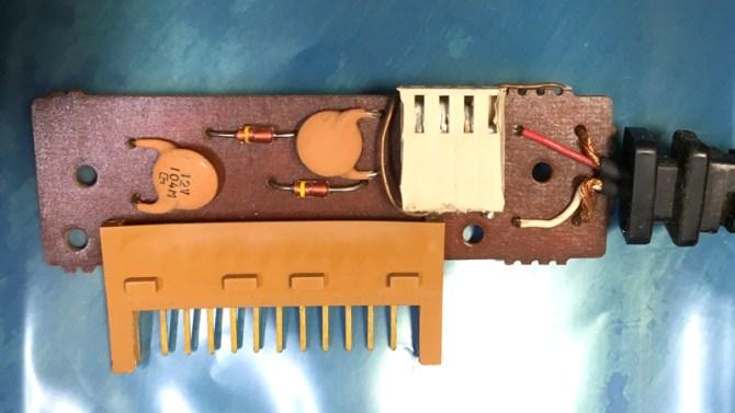 SHARP CE-124 PCB Top