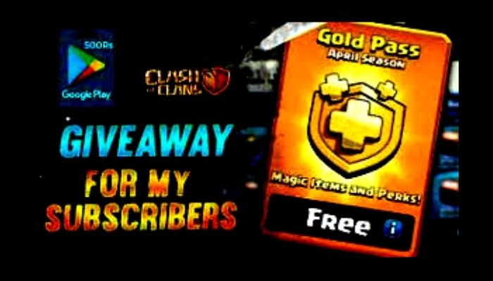 How To Get Free Gold Pass In Coc In 2021  Free Gold Pass In Clash Of Clan