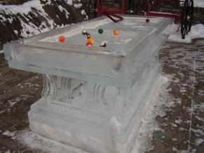 ice billiard table