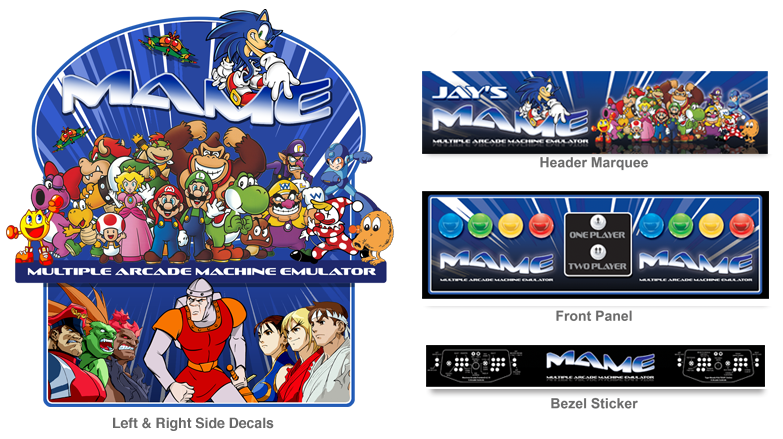 187 Customer Submitted Custom Mame Graphic Decals For