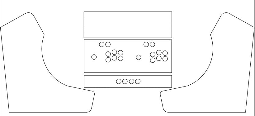 Bartop Arcade Cabinet Template Memsaheb Net