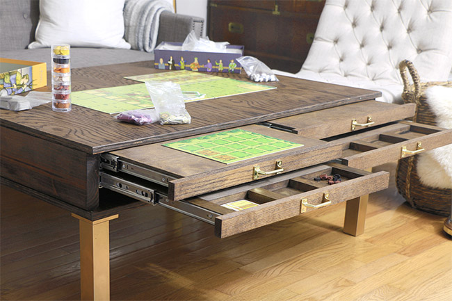Board Gamer's Coffee Table