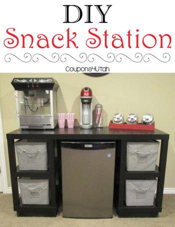DIY Snack Station