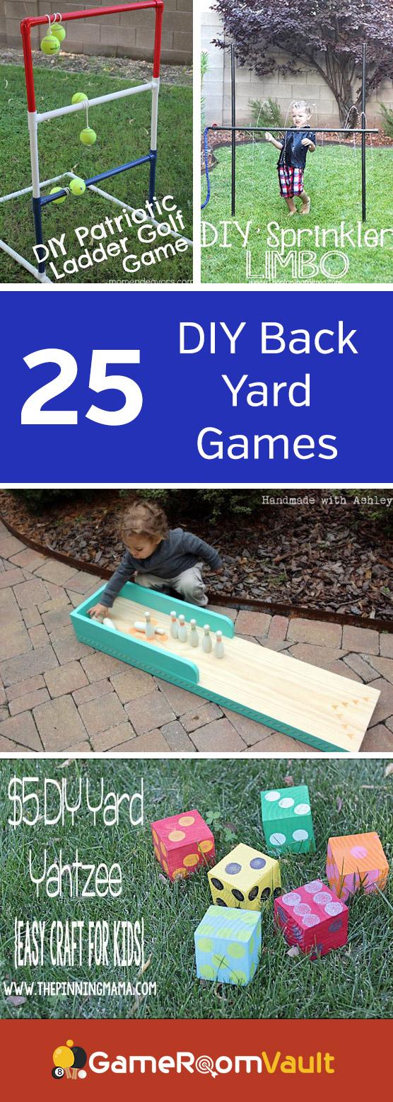 DIY Back Yard Games