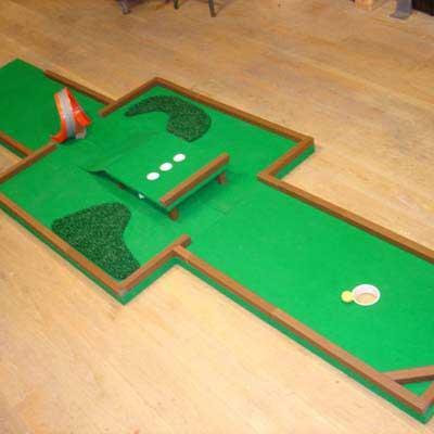 DIY Mini Golf