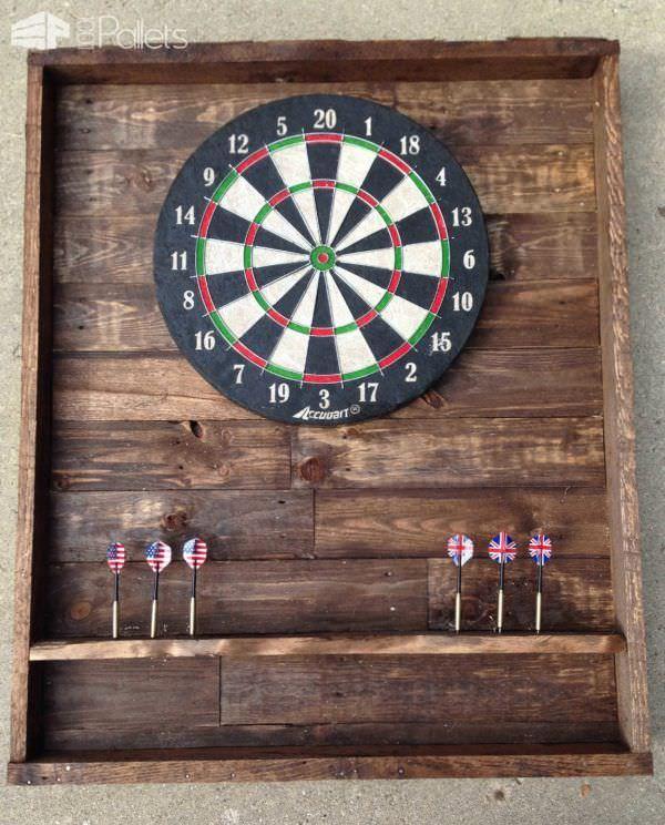 Pallet Dart Board Case